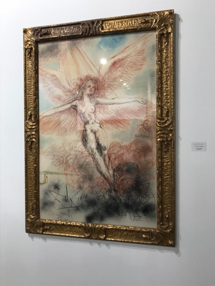 dali angel in ecstasy